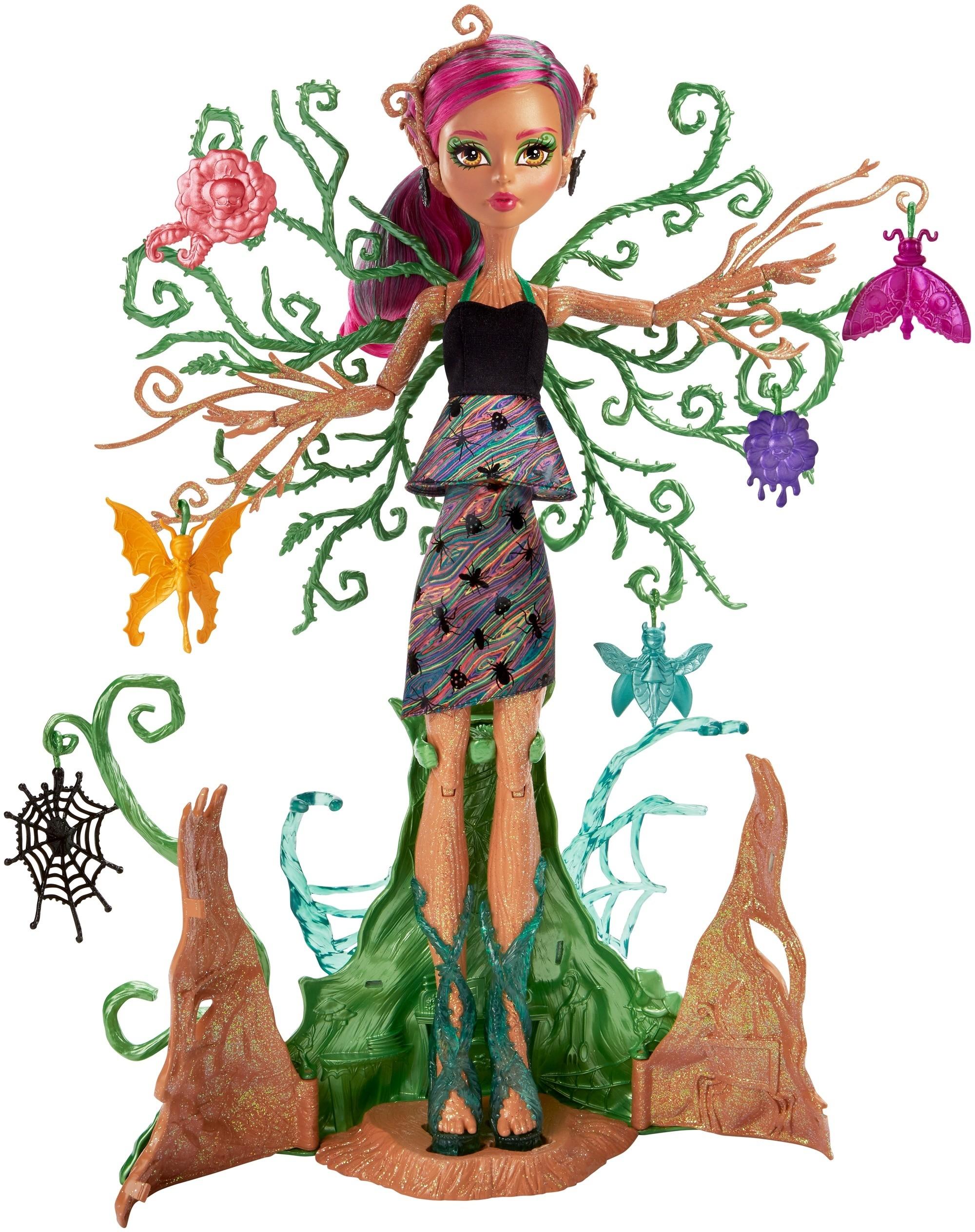 Monster High Monster High Кукла Monster High «Цветочные монстряшки: Триса» цена