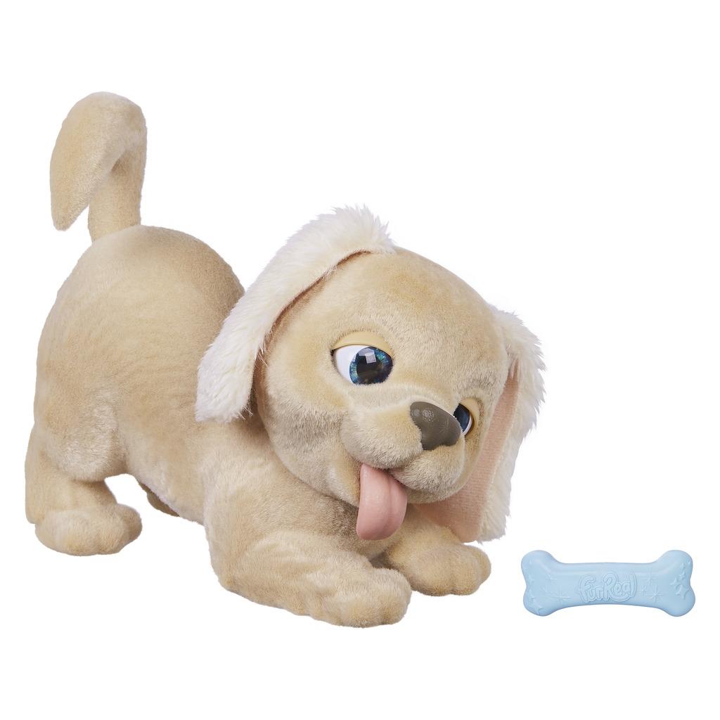Интерактивные животные Furreal Friends Голди интерактивные игрушки furreal friends милый дракоша