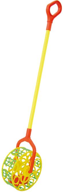 Игрушки-каталки Спектр Каталка Спектр «Погремушка» D15 каталки игрушки bondibon игрушка деревянная каталка с веревочкой гусеница bох