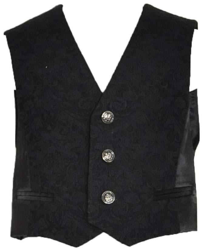 Форма для мальчиков Смена Жилет для мальчика «Смена», черный жилет pinetti pinetti pi025ebbvxu3
