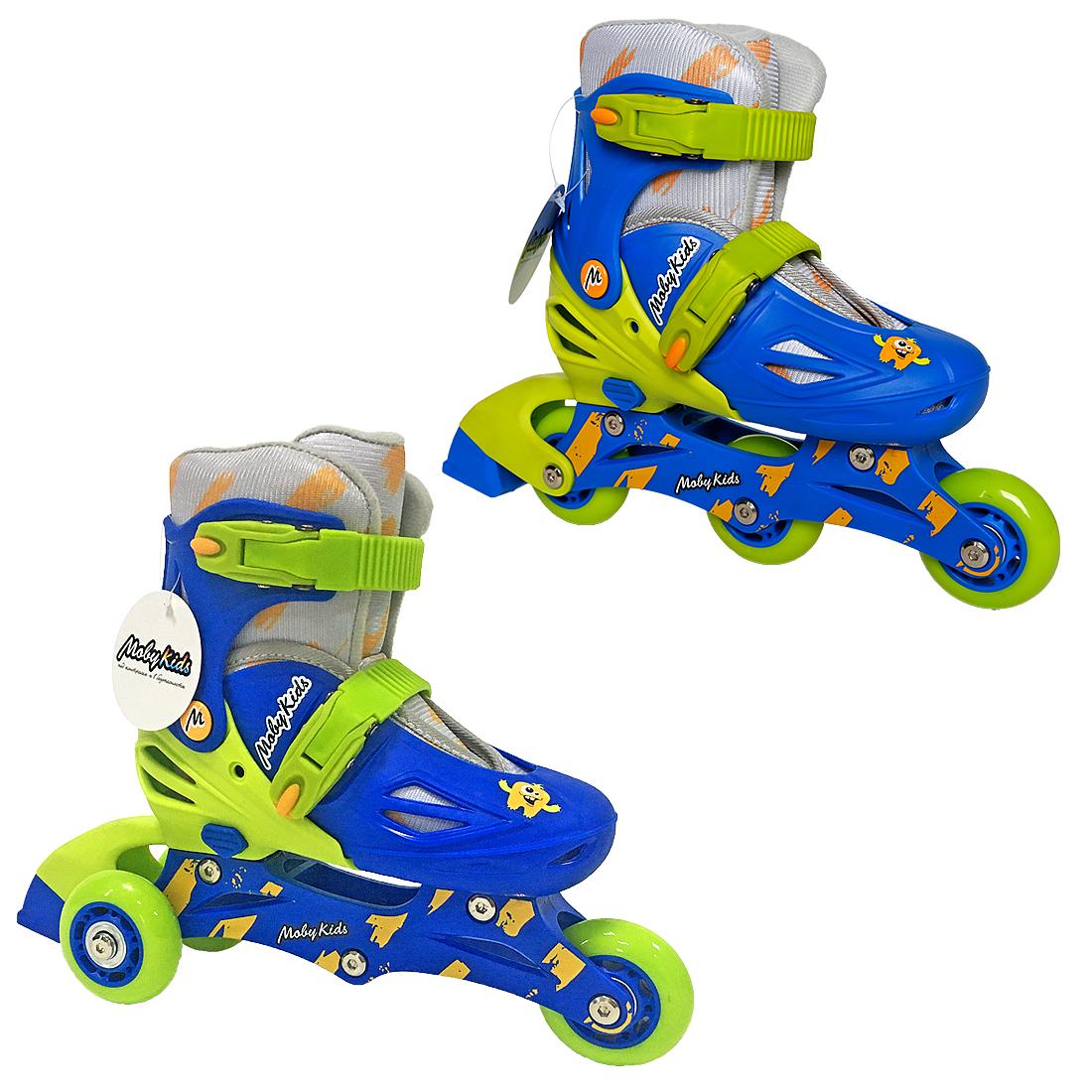 Роликовые коньки Moby Kids 641003 ролики и скейтборды moby kids коньки роликовые moby kids 26 29 раздвижные фиолетовые