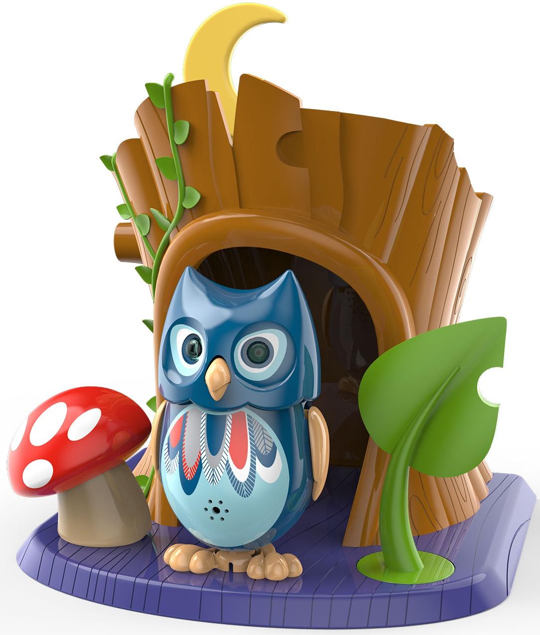 Интерактивная игрушка Гулливер Сова с домиком интерактивная игрушка сова с домиком
