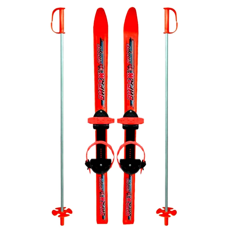 Купить Сноуборды и лыжи, Вираж-Спорт «МПЛ 106.00» красные, Россия, red