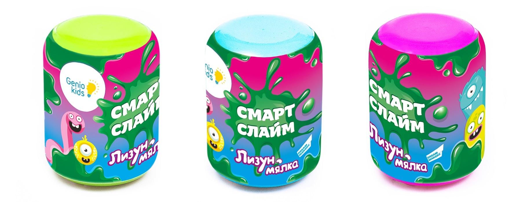 цены Наборы для творчества Genio kids Лизун Genio Kids-Art «Лизун-мялка»