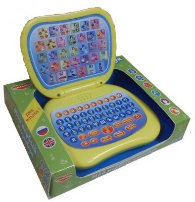 Электронная игрушка Малыши Мой первый ноутбук ноутбук