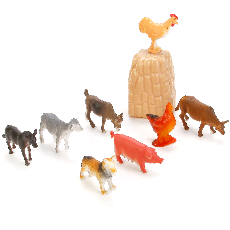 Набор фигурок Играем вместе домашних животных 8 шт фигурки животных играем вместе рассказы о животных домашние животные