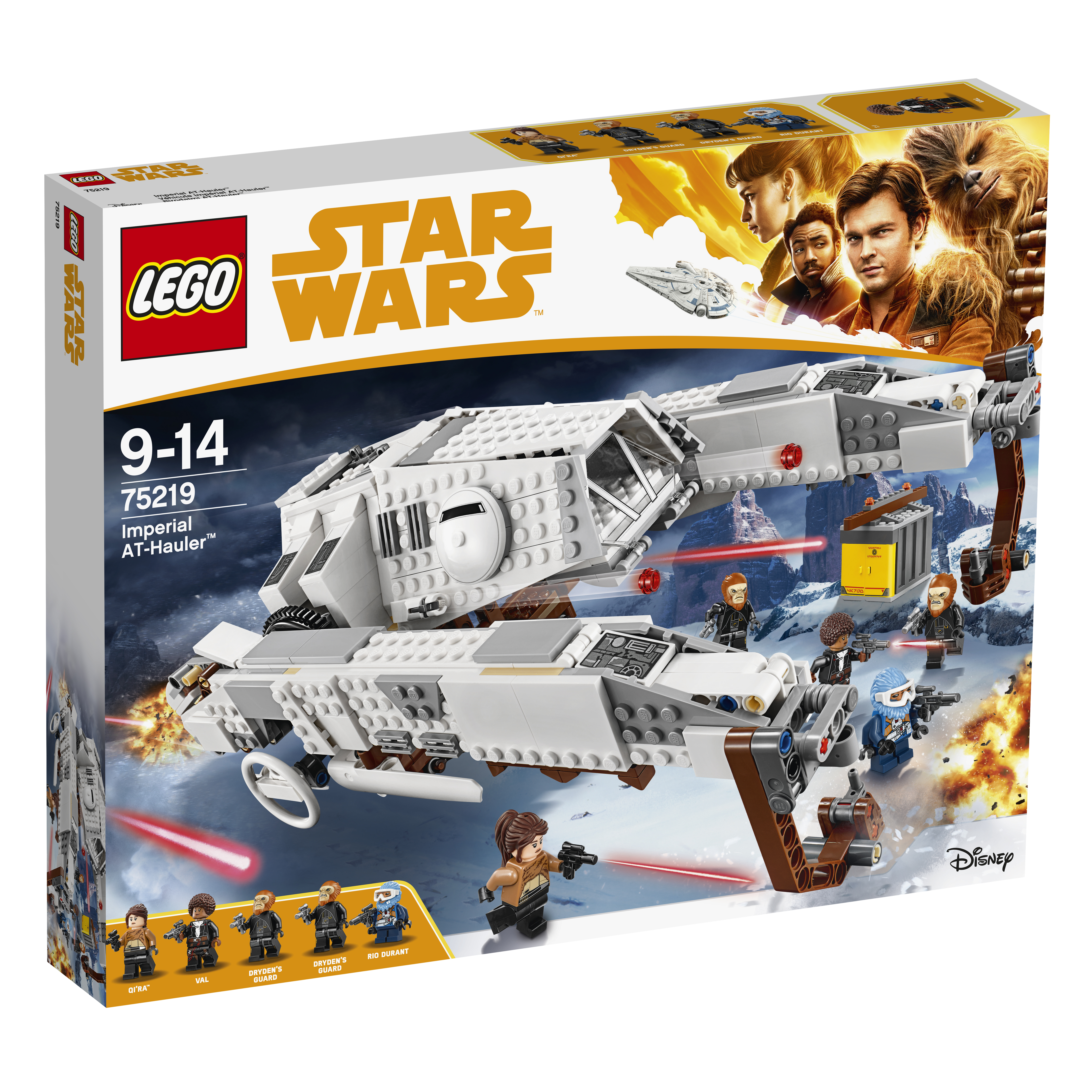 Конструктор LEGO LEGO Star Wars 75219 TM Имперский шагоход-тягач