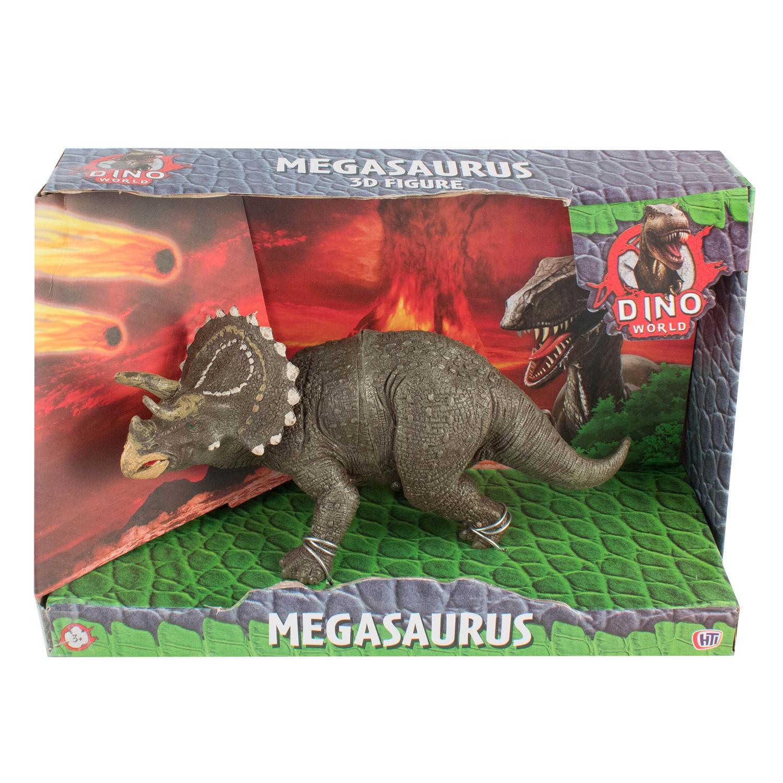 Фигурка HTI DINO WORLD. Трицератопс mattel фигурка jurassic world динозавры трицератопс со звуковыми эффектами