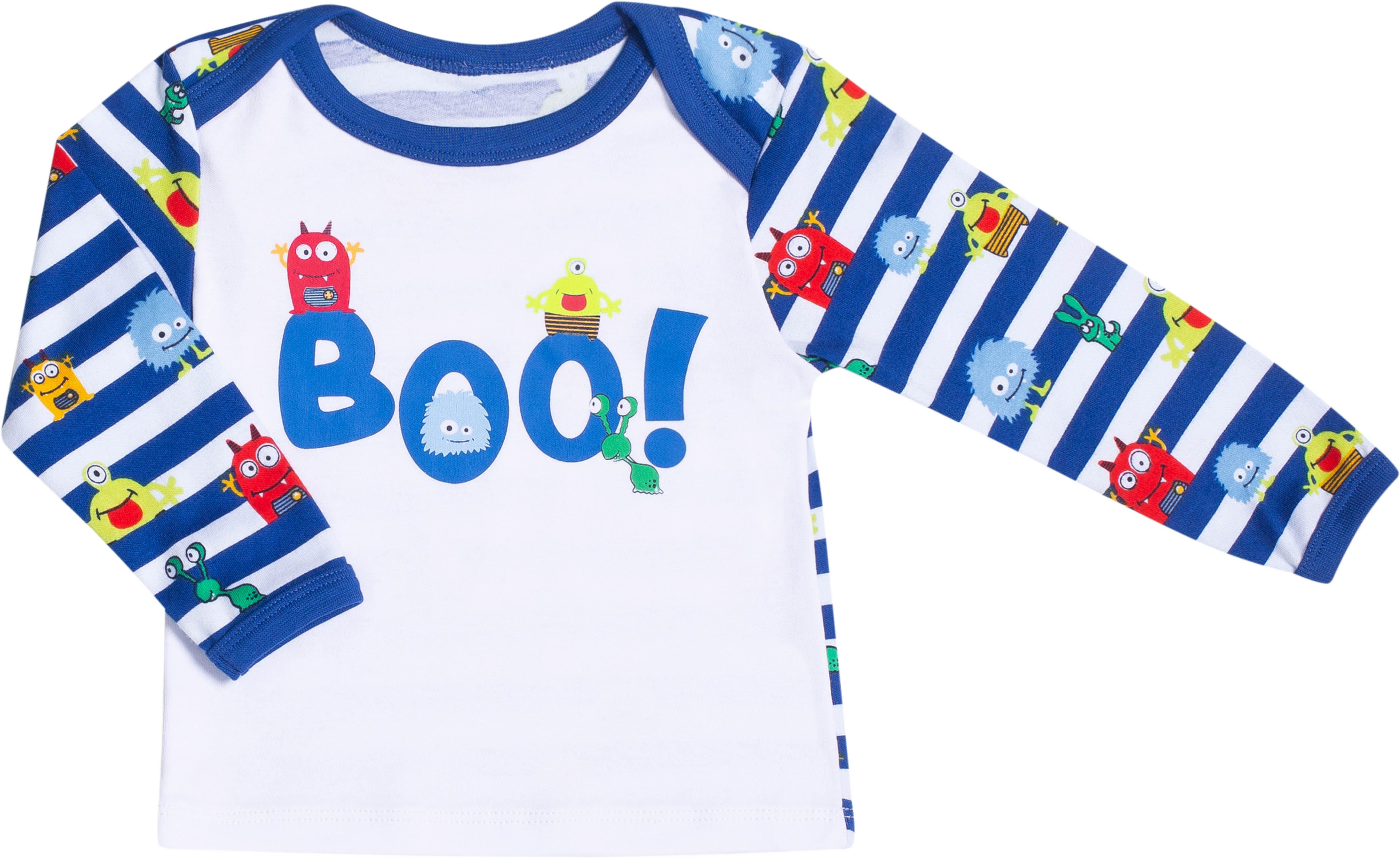 Комплект: футболка и ползунки Barkito Монстрики W18B0131U