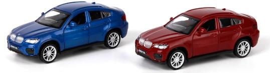 Машинка Технопарк BMW X6 Технопарк bburago модель автомобиля bmw x6 m цвет бордовый