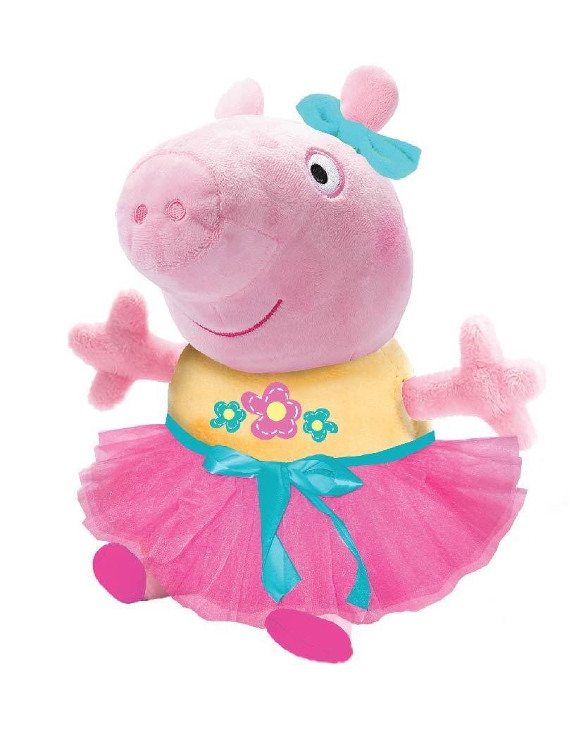 Купить Мягкая игрушка, «Пеппа играет в прятки» со звуком 25 см, 1шт., Peppa Pig 34834, Китай, розовый/желтый