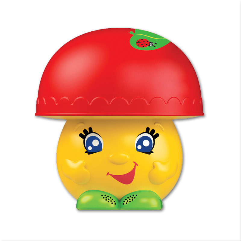 Развивающие игрушки Азбукварик Музыкальный грибок Азбукварик