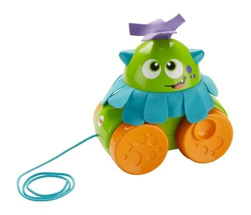 Развивающие игрушки Fisher Price Игрушка-каталка Fisher Price Монстрик «Играй и катай» цены онлайн