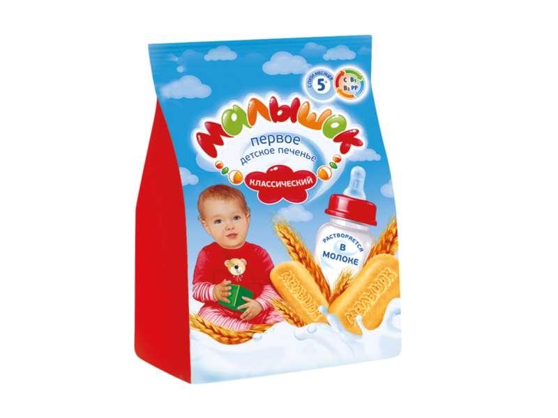Печенье Малышок Малышок классическое с 5 мес. 200 г