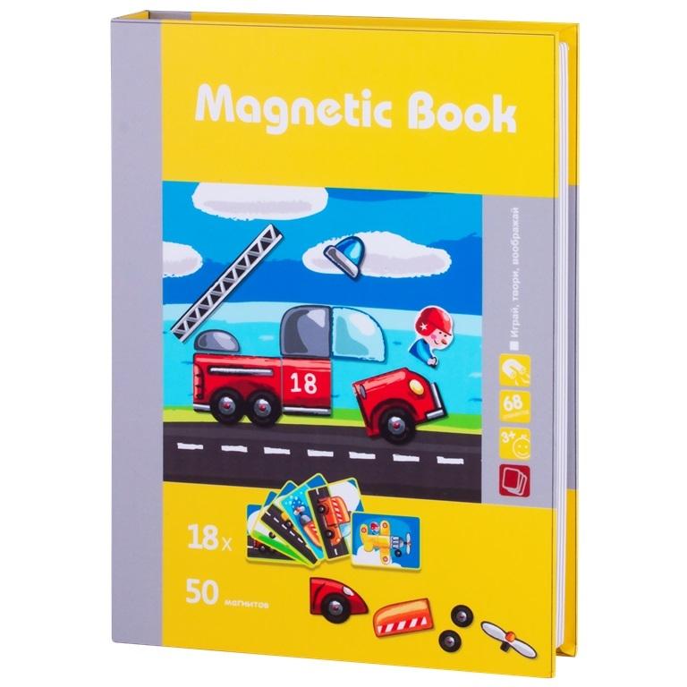 цены на Развивающая игра Magnetic Book Юный инженер TAV035  в интернет-магазинах
