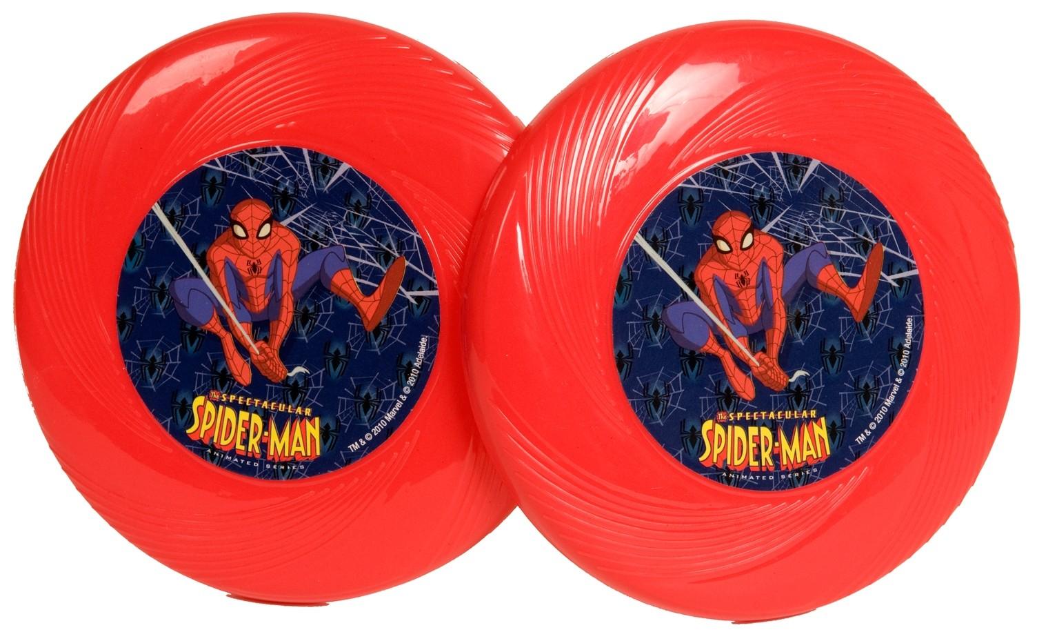 Игрушка HTI Мини-диски Spiderman активные игры hti мини диски ben 10