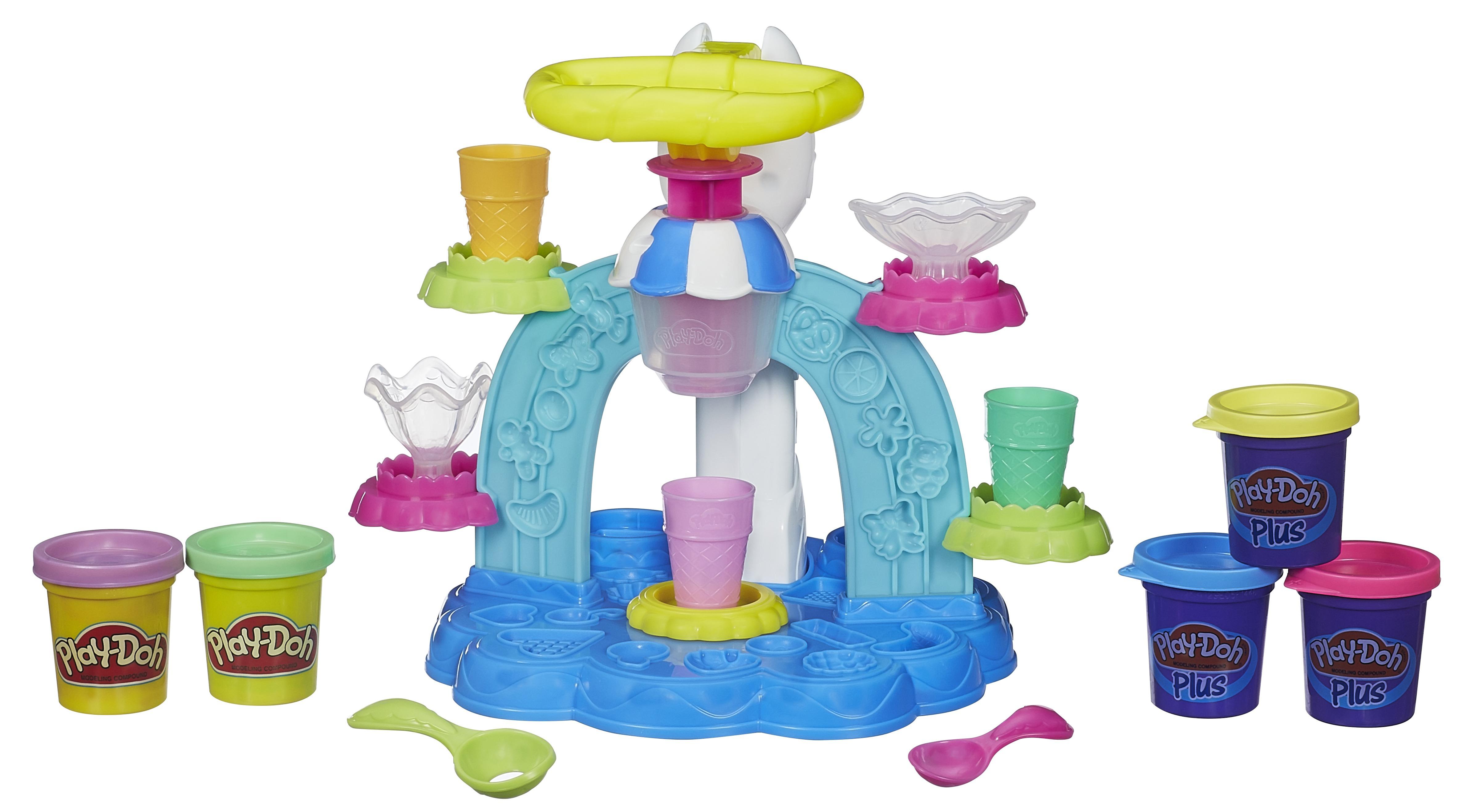 Купить Пластилин, Фабрика мороженого, Play-Doh, Китай