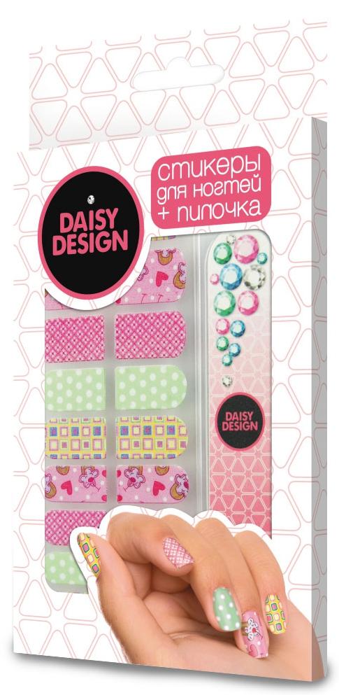Украшения DAISY DESIGN Набор стикеров для дизайна ногтей Daisy Design «Romantic. Коллаж» double daisy