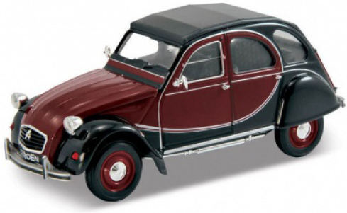 Машинки и мотоциклы Welly Модель машины Welly «Citroen 2CV» 1:24 в асс. машины motormax машинка коллекционная 1 24 mercedesbenz slk55 а мg