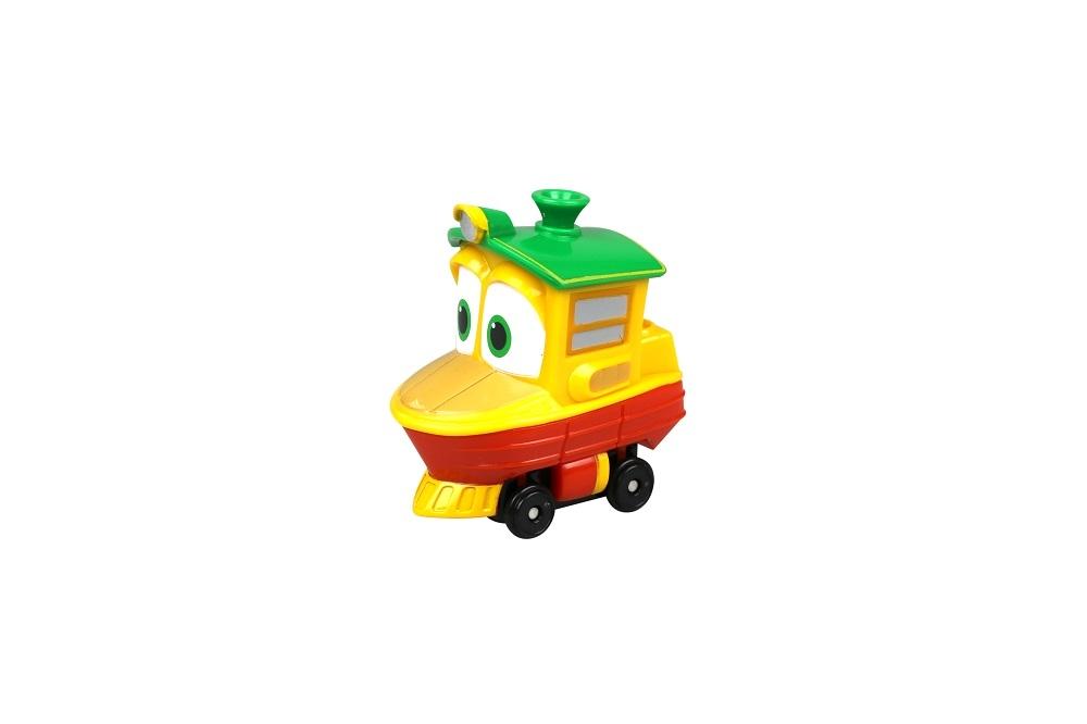 Фигурки героев мультфильмов Robot Trains Утенок 80157 robot trains набор трансформеров станция кея