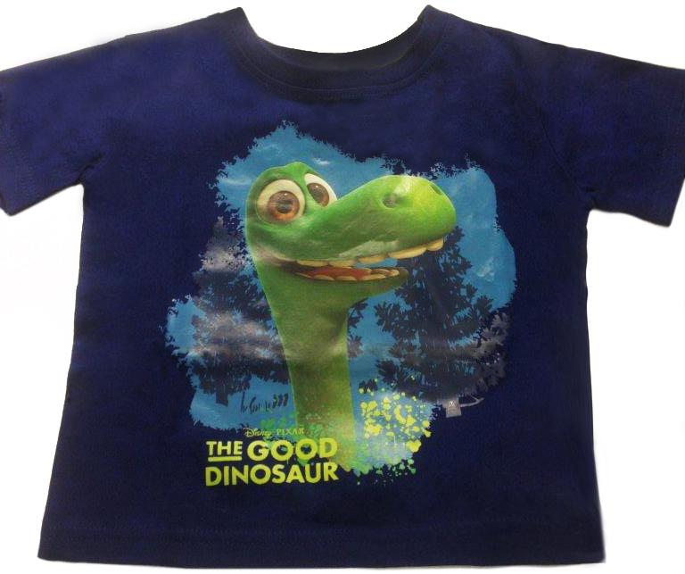 Футболки THE GOOD DINOSAUR Футболка с коротким рукавом для мальчика The Good Dinosaur, синяя динозавтра good dinosaur подвижная большая