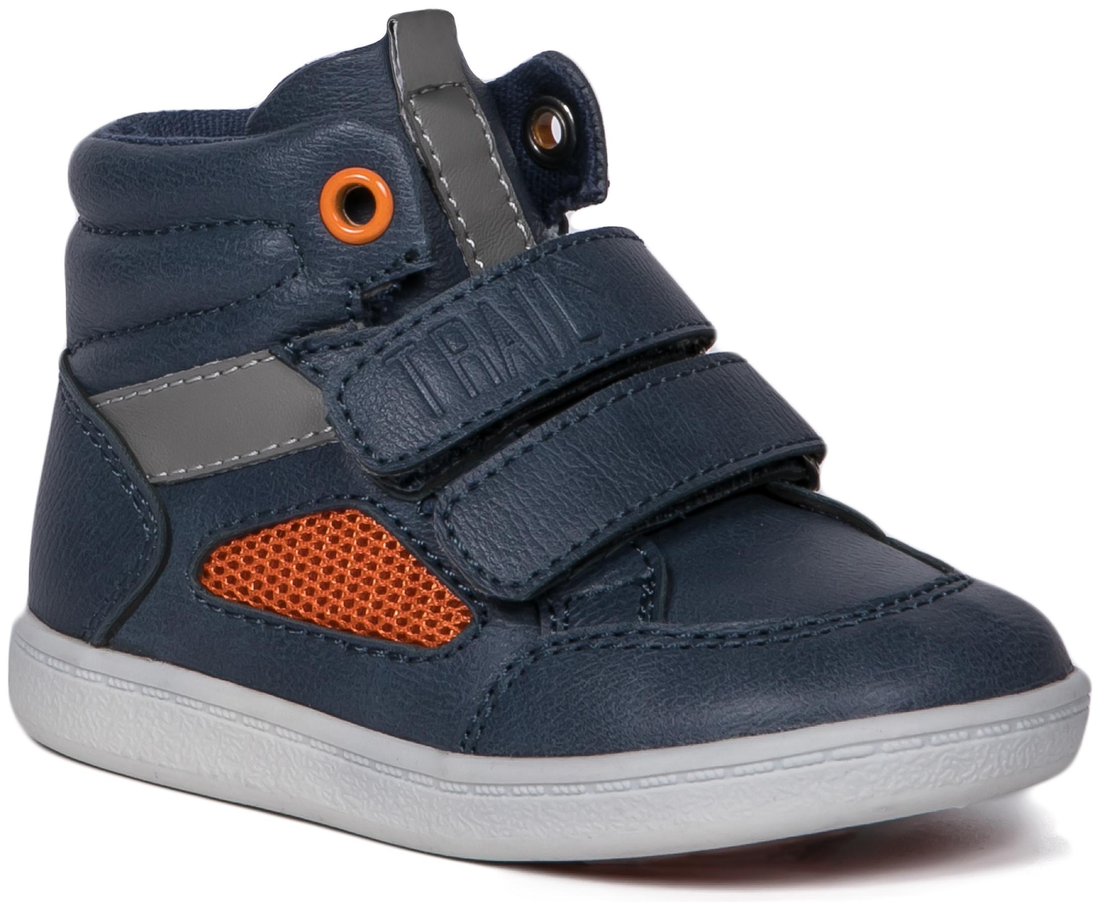 Ботинки и полуботинки Barkito Ботинки для мальчика Barkito, темно-синий цены онлайн