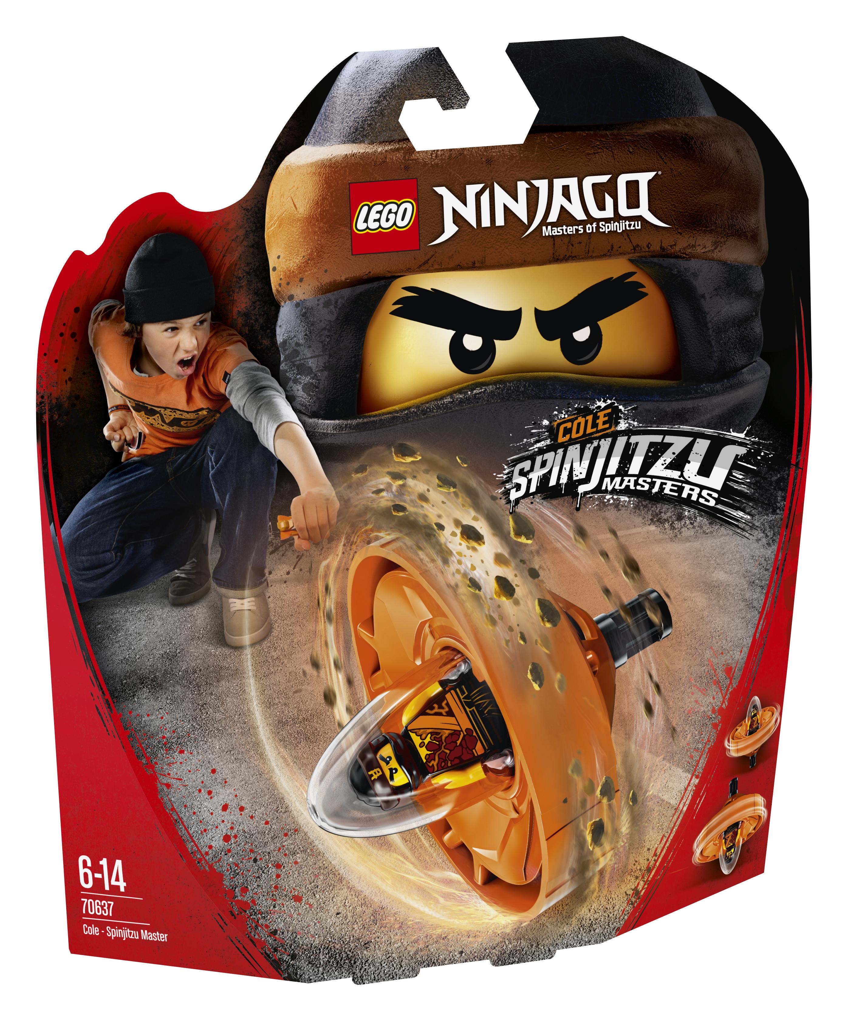 Конструктор LEGO Ninjago 70637 Коул-Мастер Кружитцу цена