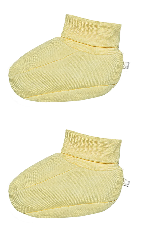 Первые вещи новорожденного Barkito Пинетки детские Barkito Спящая овечка, желтые