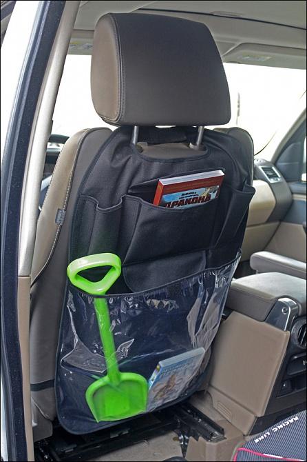 аксессуары для автомобиля Аксессуары для колясок и автокресел Топотушки Органайзер на спинку сиденья