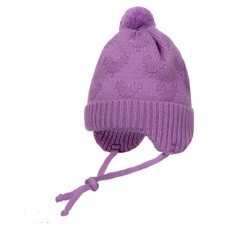 Головные уборы Barkito Шапка-ушанка для девочки Barkito сиреневый головные уборы barkito шапка ушанка с завязками для девочки barkito светло розовая