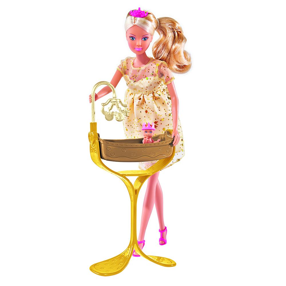 Другие куклы simba Кукла Simba «Штеффи. Королевский набор» беременная 29 см