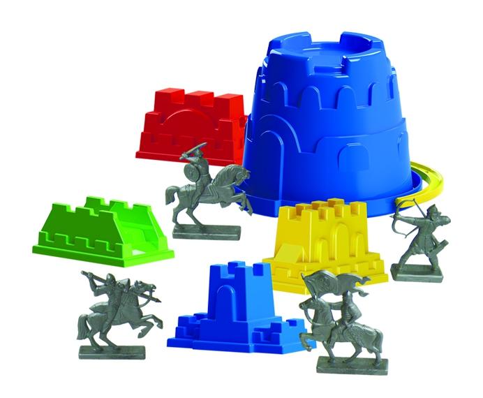 Игрушки для песка Пластмастер Бастион игрушки для песка пластмастер африка