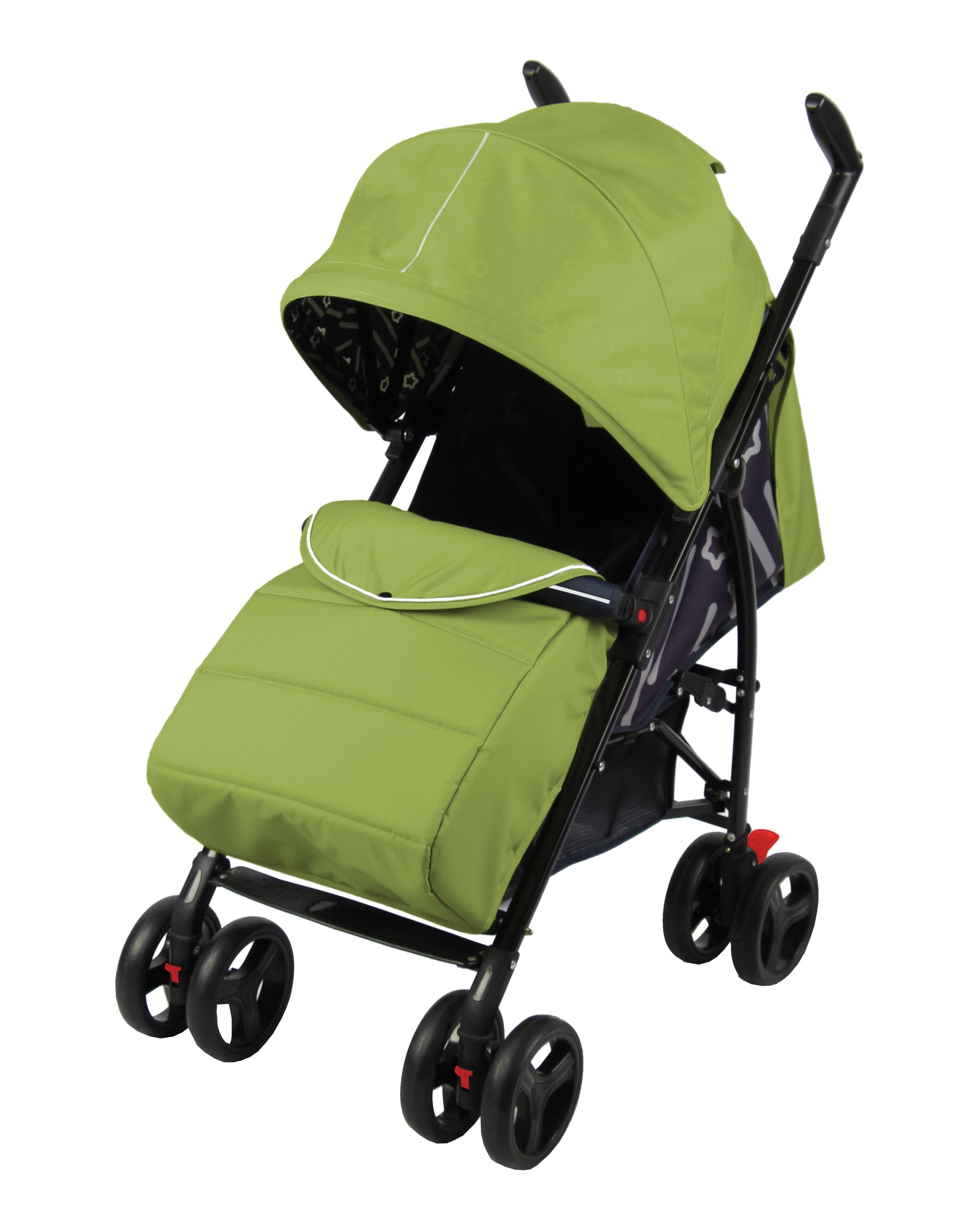 Прогулочная коляска Parusok Walker Pro зеленый