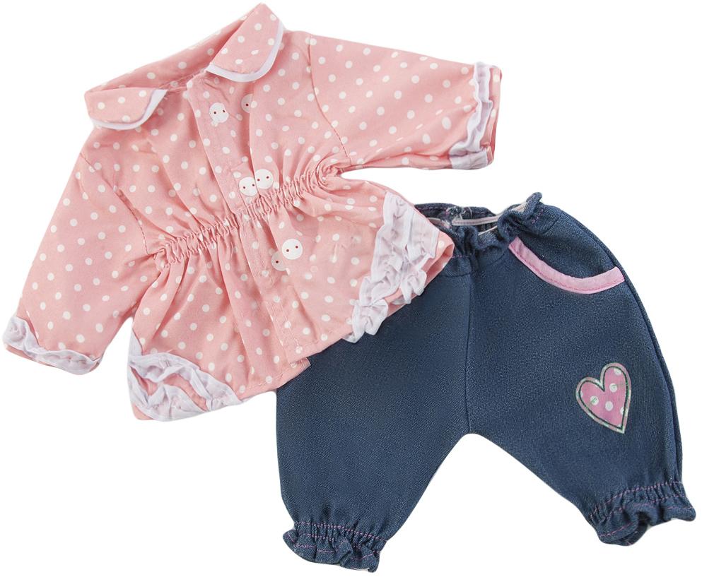 Кофточка и штанишки Наша игрушка для куклы кофточка apart кофточка