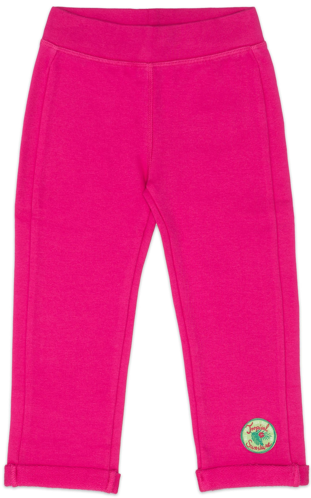 Брюки Barkito Брюки трикотажные для девочки Barkito, Алоха Гавайи!, темно-розовые брюки barkito салатовая