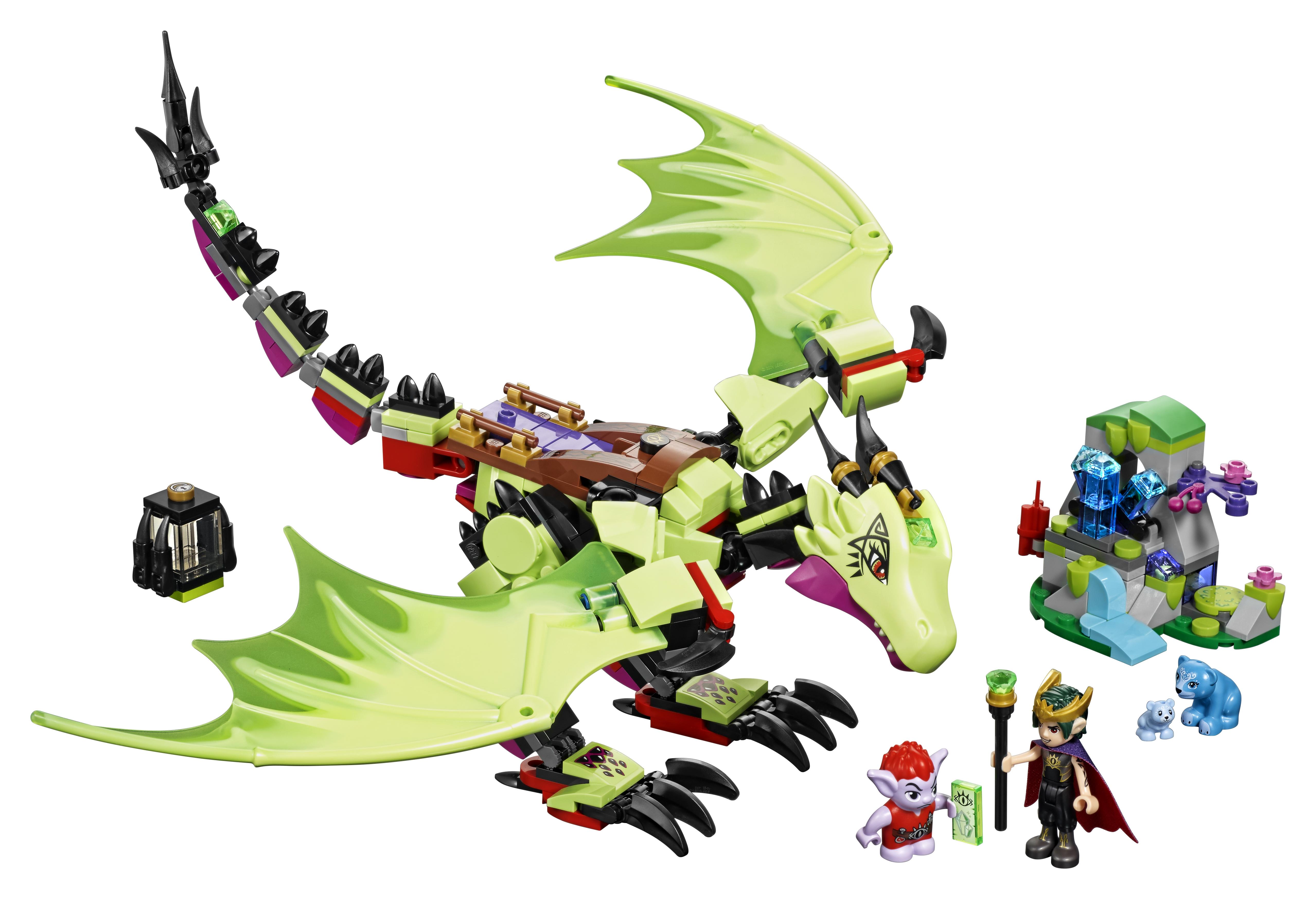 Конструктор LEGO Elves 41183 Дракон Короля Гоблинов конструктор lego elves 41178 логово дракона
