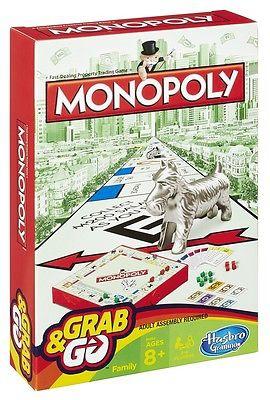 Игры в дорогу MONOPOLY Дорожная игра Hasbro «Монополия» настольная игра hasbro hasbro настольная игра монополия миллионер