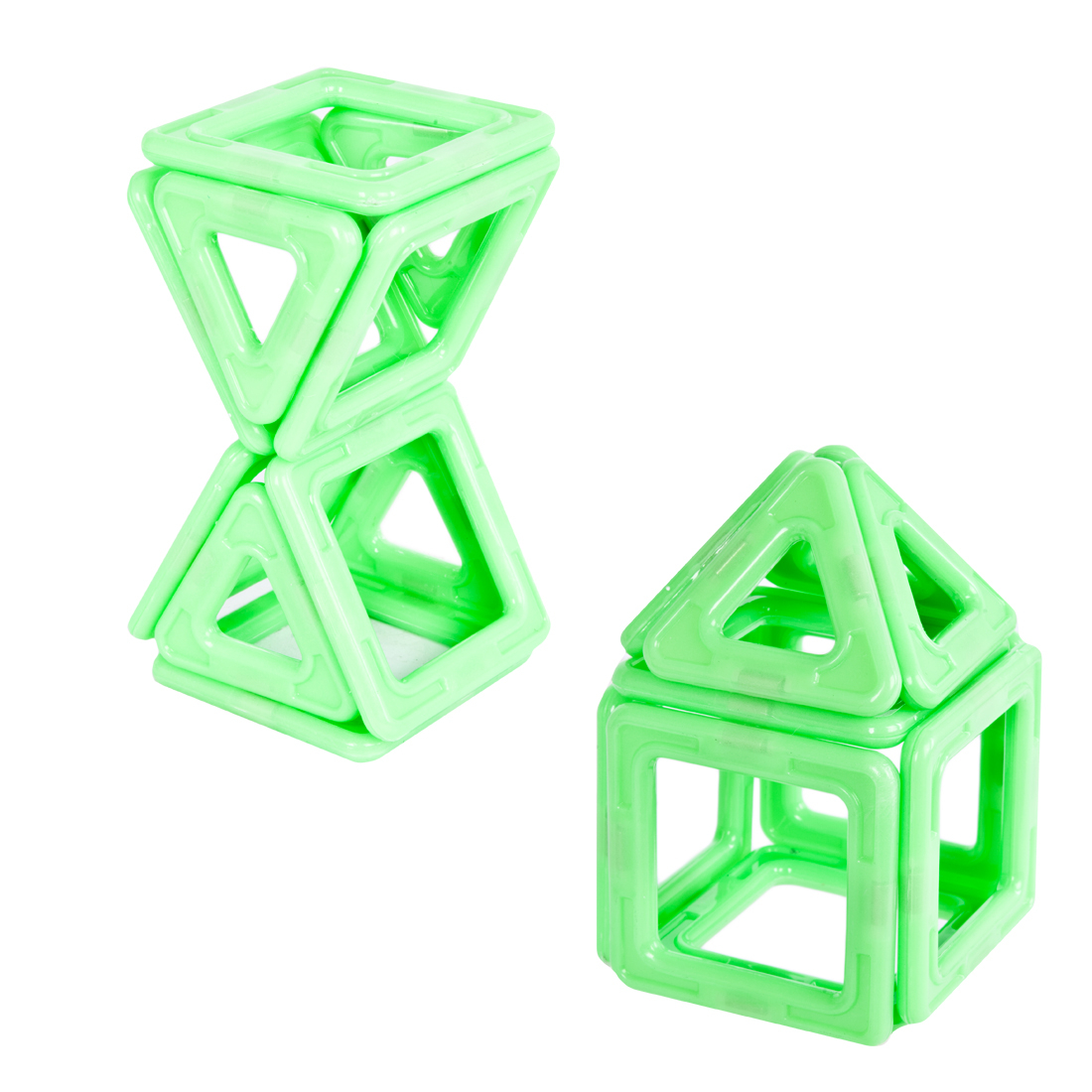 Магнитные Xinbida Конструктор магнитный 3D Xinbida светящийся 14 дет. конструктор lepin бой в подземелье 94 дет 18034