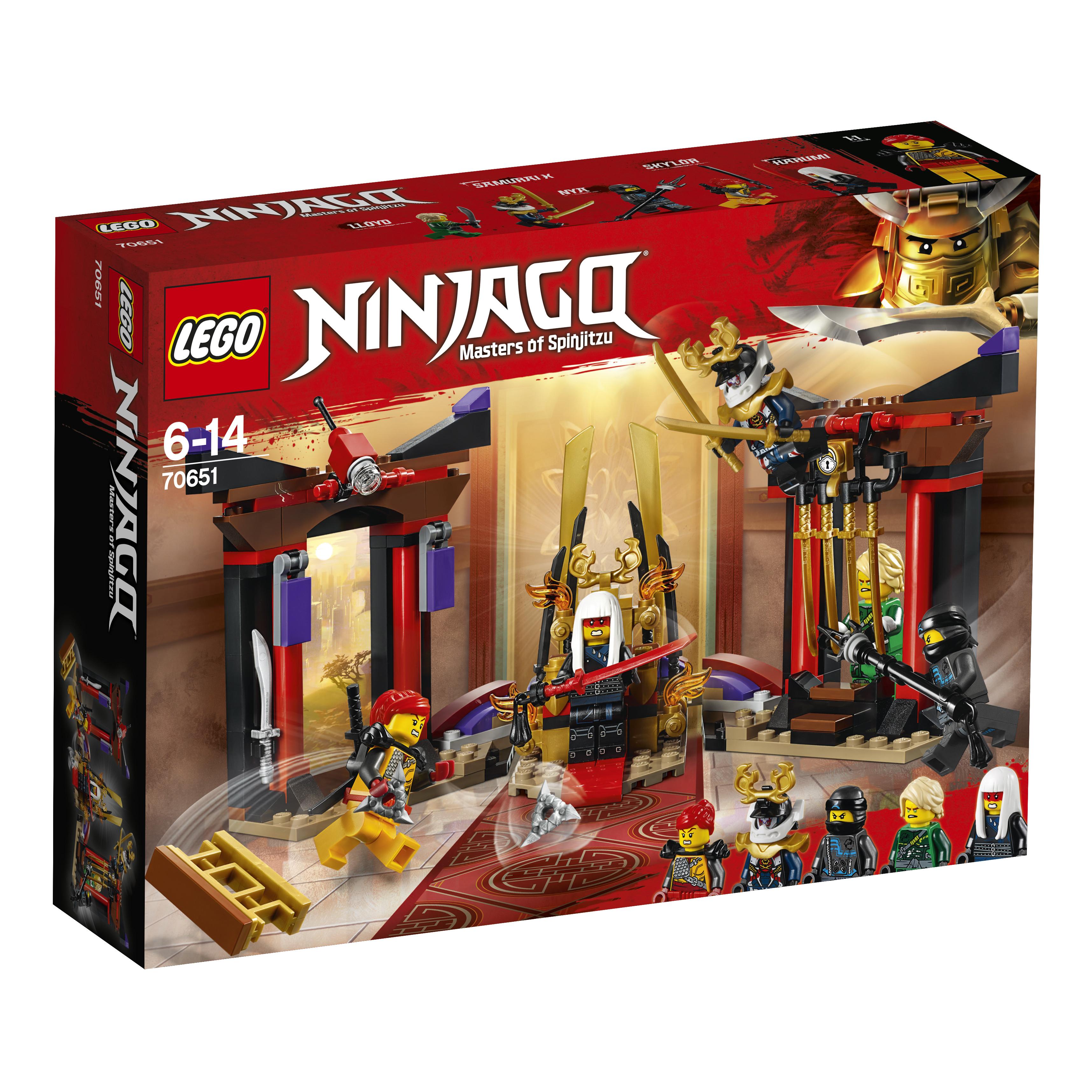 LEGO LEGO Конструктор LEGO Ninjago 70651 Решающий бой в тронном зале