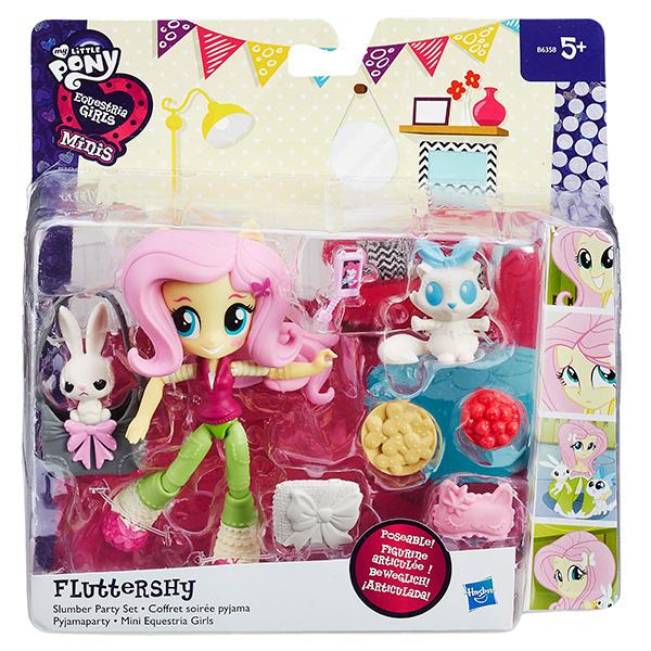 Мини-кукла Hasbro Эквестрия Герлз hasbro игровой набор с мини куклой equestria girls пижамная вечеринка пляжный спорт рэйнбоу дэш