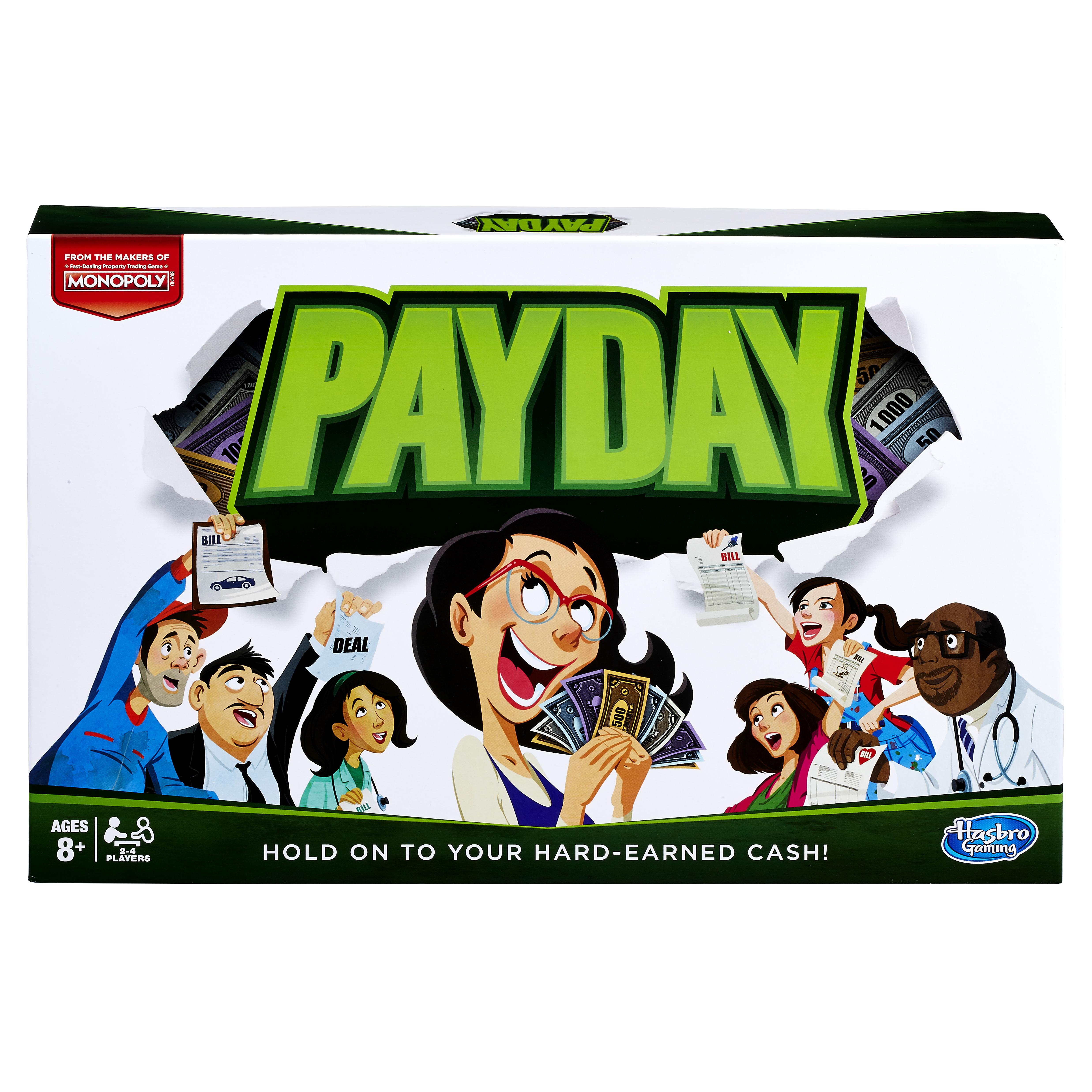 Настольные игры Hasbro Monopoly: Pay day настольная игра час расплаты hasbro gaming e0751