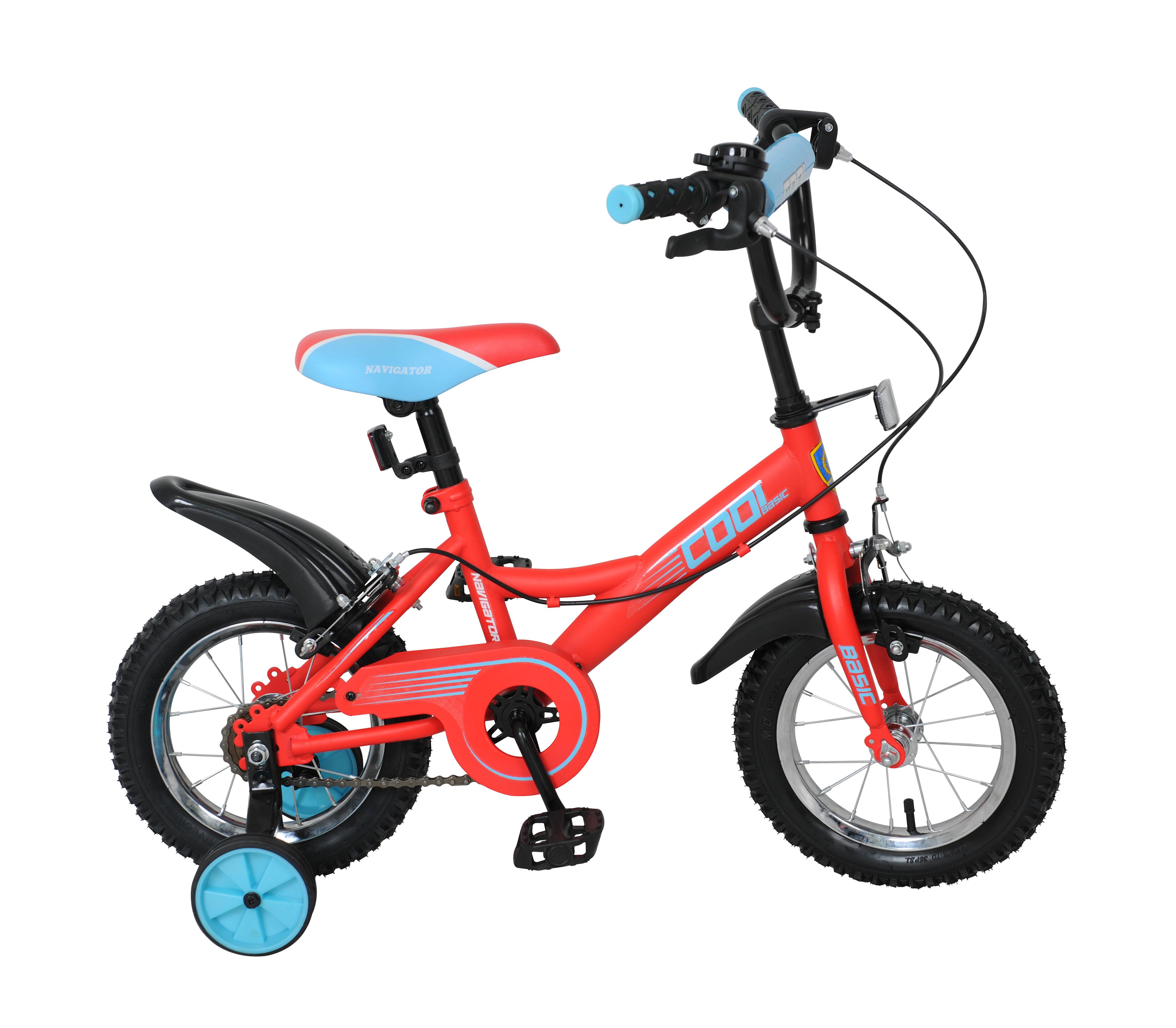 Купить Двухколесный велосипед, Cool 12, Navigator Basic, Китай, металл, полимерные материалы, текстильные материалы, резина