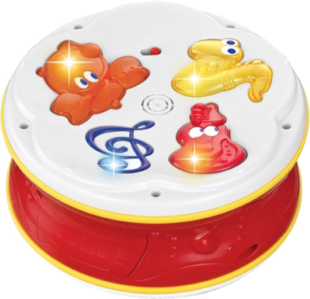 Купить Развивающая игрушка, Музыкальный барабан, 1шт., FUN FOR KIDS 23023, Китай, Мультиколор