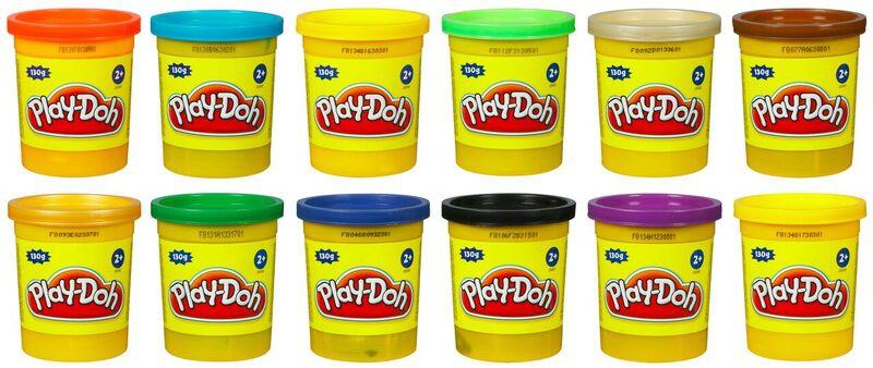 Купить Пластилин, 1 баночка в ассортименте, Play-Doh, Турция