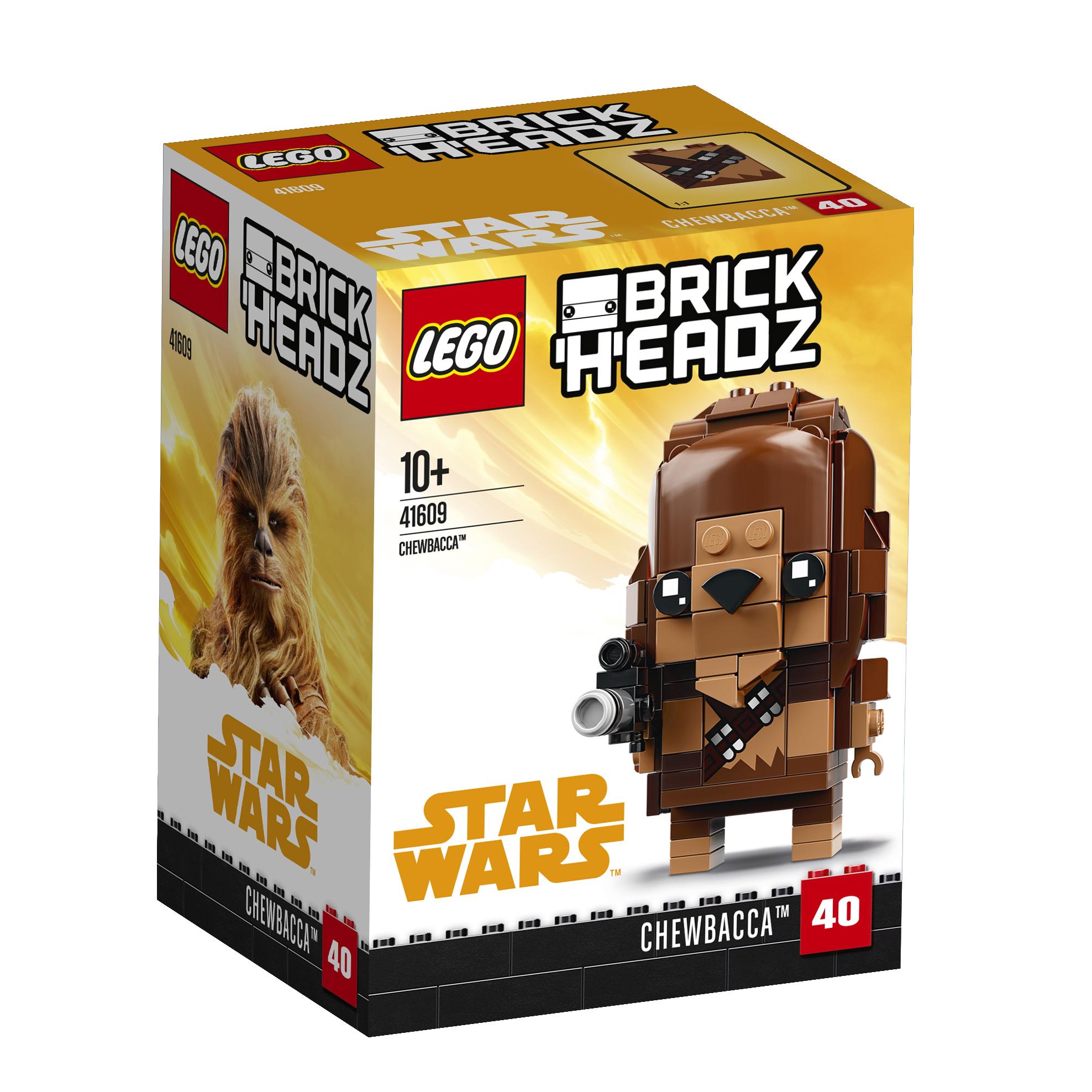все цены на LEGO LEGO Конструктор LEGO BrickHeadz 41609 Чубакка