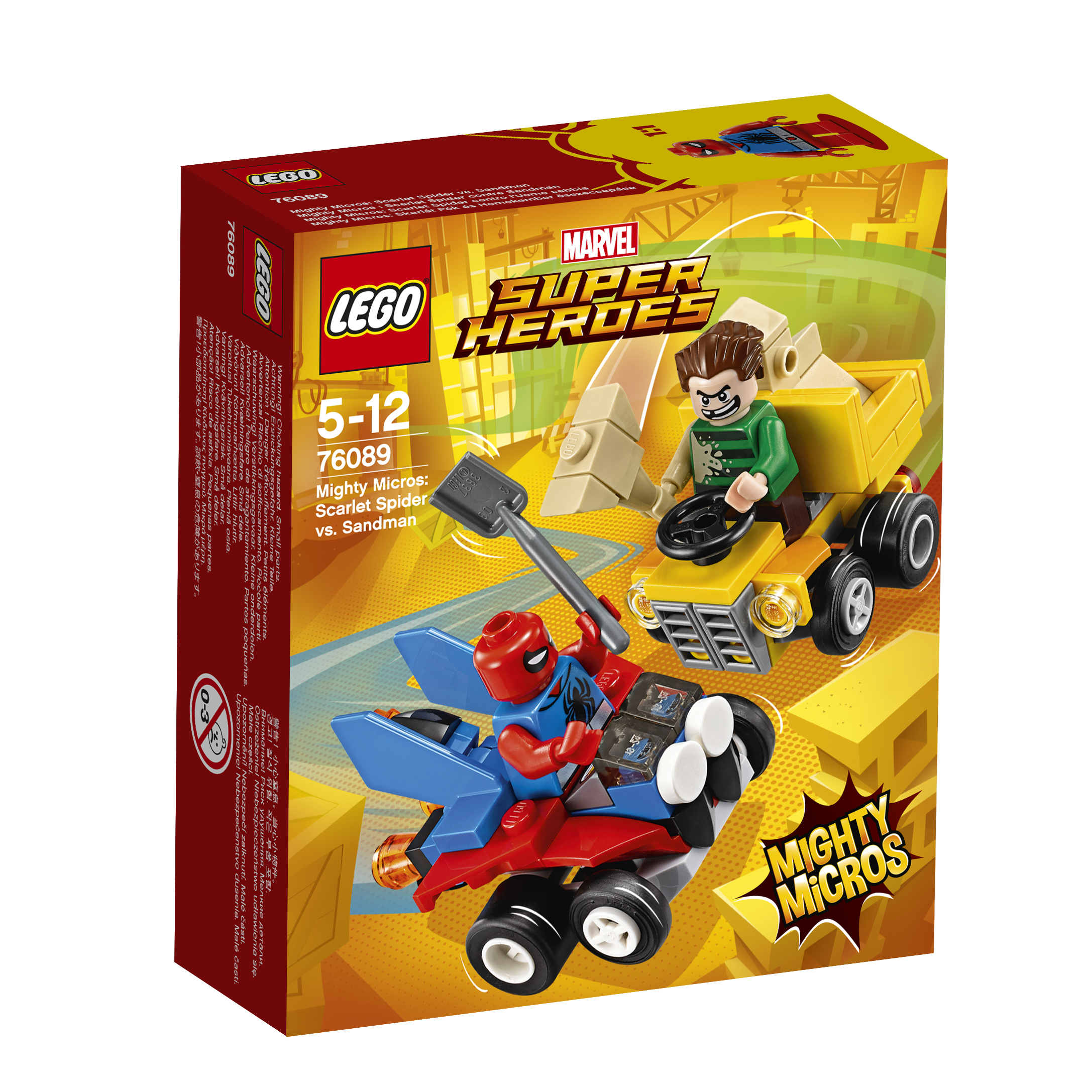 LEGO LEGO Конструктор LEGO Super Heroes 76089 Человек-паук против Песочного человека lego игрушка джуниорс убежище человека паука™ 10687 4
