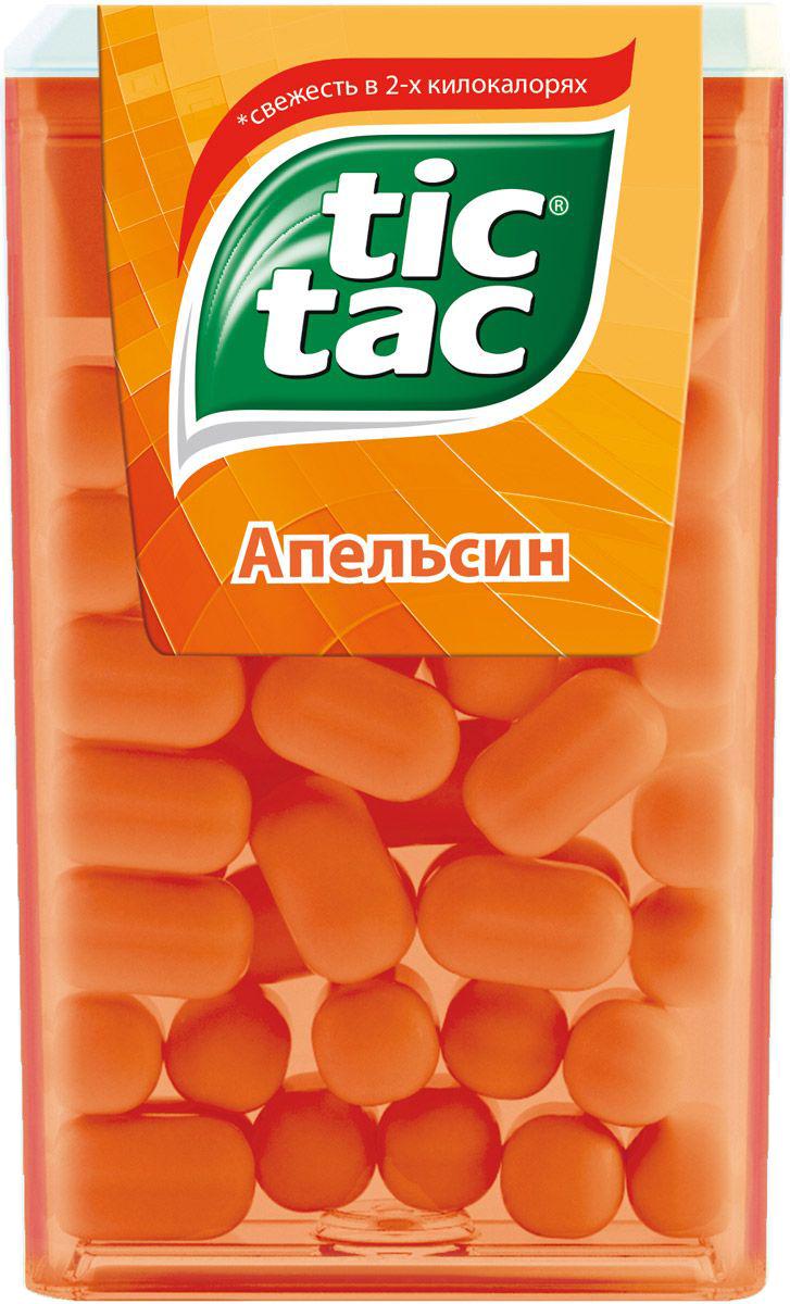 Десерты Tic Tac Драже Tic Tac «Апельсин» 16 г tic 181s