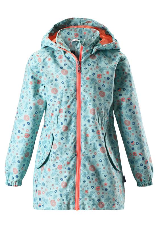 Куртка для девочек Lassie Takki зеленая