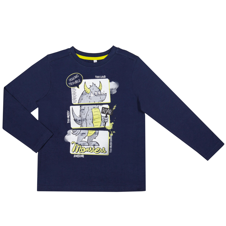 Футболки Barkito Большой монстр футболки barkito футболка с длинным рукавом для мальчика barkito монстр трак синяя