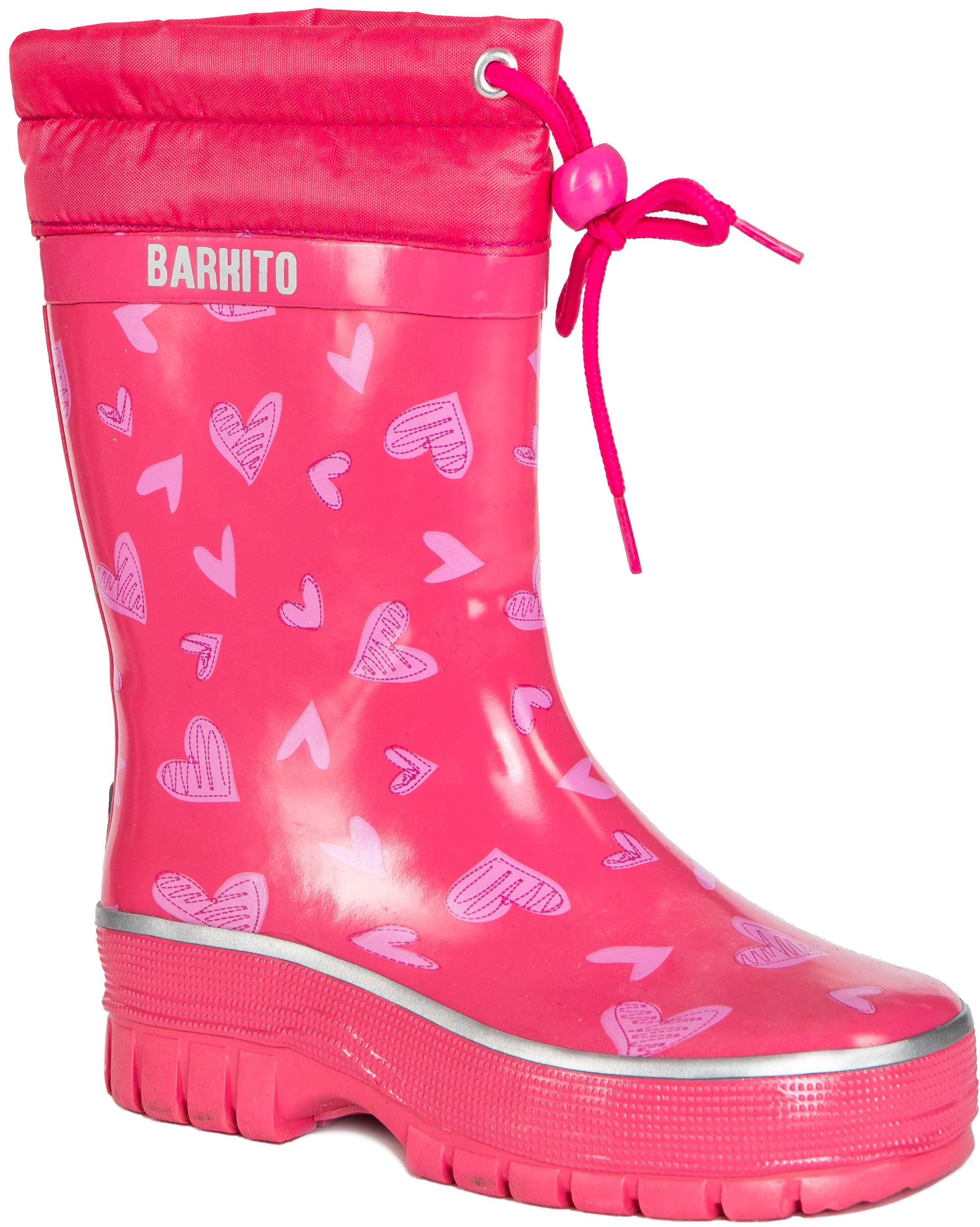 Купить Резиновые сапоги, KRS18205, Barkito, Китай, pink, Женский